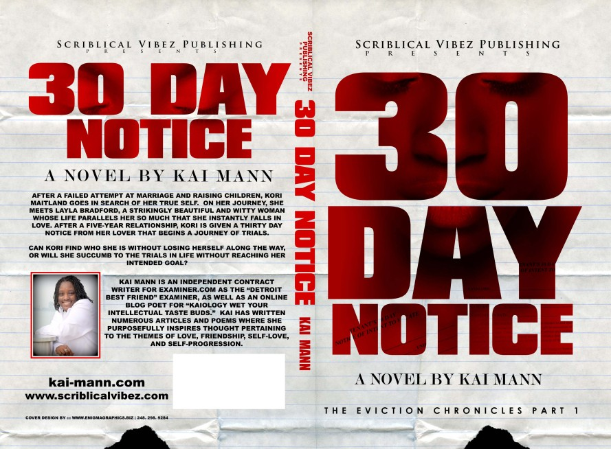 New Cover for 30 Day Notice