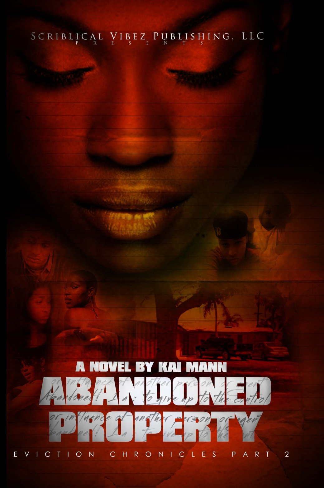 Abandoned Property front cover made by me
